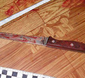 Мужчина ударил ножом сожительницу