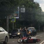 В Смоленске на пешеходной «зебре» сбили девушку