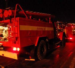 В Смоленской области случился пожар