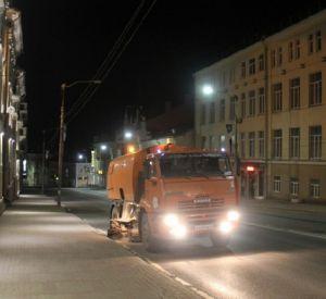Составлен новый график механизированной уборки улиц