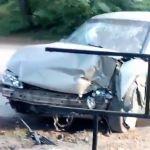 В сети появилось видео с места аварии в Вязьме.