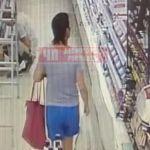 Видео: Смолянка стащила лак в магазине косметики