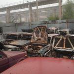 Более 20 автомобилей сгорели на штрафстоянке