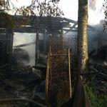 В Смоленском районе заживо сгорели два человека