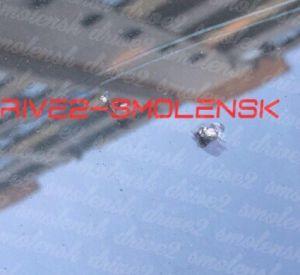Неизвестный расстрелял припаркованную «Audi» (фото)