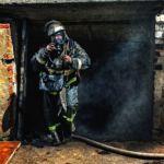 Ярцевчан переполошил пожар в подвале дома