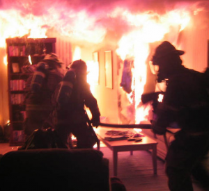 На Витебском шоссе в Смоленске горела комната