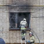 Фото: В смоленском общежитии произошел пожар