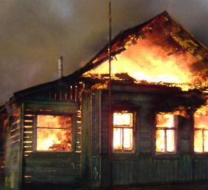 В Новодугино сгорел магазин