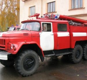 В Смоленской области сгорела «Газель»