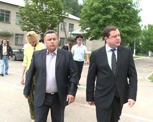 Алексей Островский побывал с рабочим визитом в Монастырщинском районе
