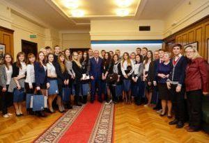 Смоленские студенты посетили Государственную Думу