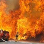 Двое мужчин погибли в горящем доме