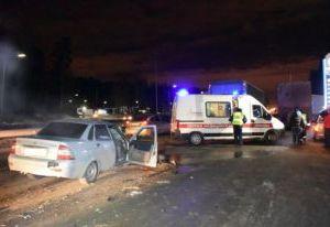 В ДТП под Смоленском погиб человек, трое пострадавших госпитализированы
