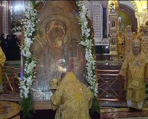 Смоленская Одигитрия выставлена в московском храме