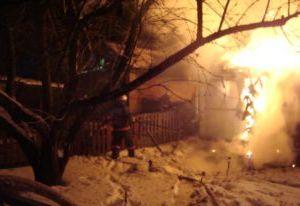 В Смоленской области в пожаре погибла 59-летняя женщина