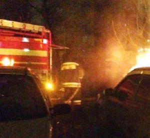 Из горящего дома в поселке Верхнеднепровский спасли пятерых