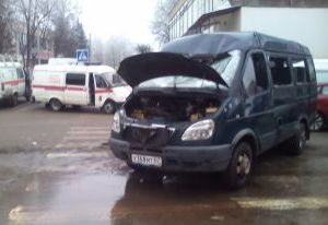 В ДТП с участием маршрутки в центре Смоленска пострадала женщина