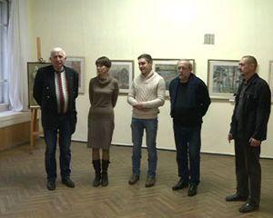 В Смоленском Доме художника открылась выставка графических работ Натальи и Константина Павловых