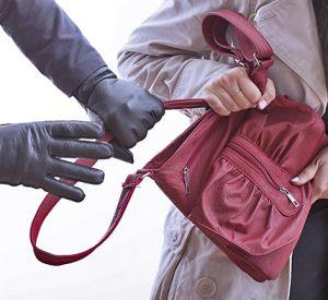 Парень вырвал у девушки сумку и дал дёру