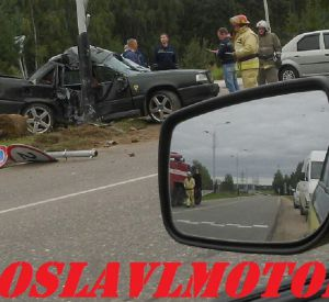 Вчера в Десногорске произошло жёсткое ДТП