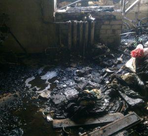 Жительница области сгорела заживо