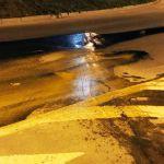 Автомобилистов предупредили о лопнувшем асфальте