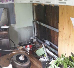 Забывчивые хозяева едва не спалили дом