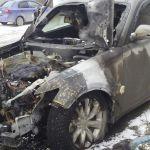 В Смоленской области сгорела дорогостоящая иномарка
