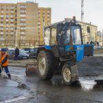 Коммунальщики начнут мыть улицы с шампунем