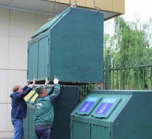 В Лопатинском саду появились контейнеры для раздельного сбора мусора