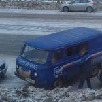 Автомобиль «Почты России» рассекает по встречной полосе (видео)