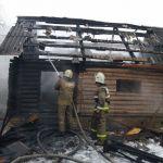 Детская шалость привела к крупному пожару