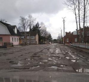 «Город бомбили?»: смоляне все чаще жалуются на отсутствие дорог (Фото)