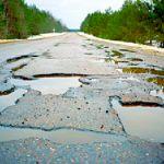 Смоленск в ТОП-ах антирейтинга по качеству убитых дорог