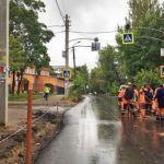В Смоленске установили новые бордюры