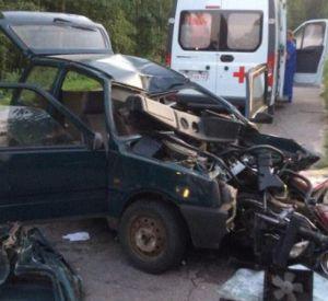 В Гагаринском районе погиб водитель малолитражки