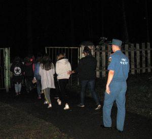 В Ярцевском районе ночью эвакуировали детский лагерь