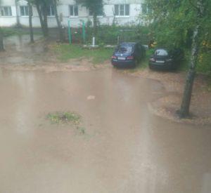 В Смоленской области затопило целый горд (фото)