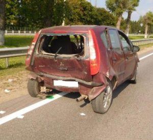 Водитель иномарки в Смоленском районе сбил двух пешеходов