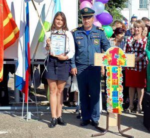В Смоленской области школьницу наградили за спасение пожилого мужчины