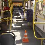 Жительница областного центра получила травмы во время поездки в автобусе