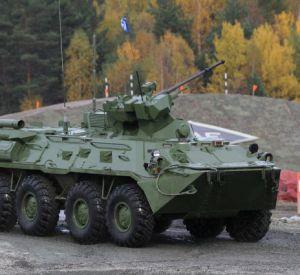 На учениях в Смоленской области БТР сбил двух сотрудников Росгвардии