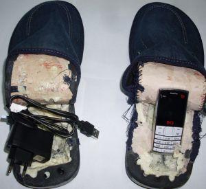 В исправительную колонию пытались передать мобильные телефоны и алкоголь