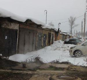 В Смоленске на улице Академика Петрова будут снесены гаражи