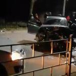 В жесткой массовой аварии под Смоленском погиб гражданин Украины