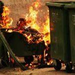 В Смоленске стали чаще гореть мусорные контейнеры