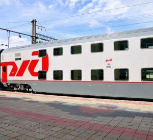 Новый двухэтажный поезд Москва – Смоленск перевез более 8 тысяч человек