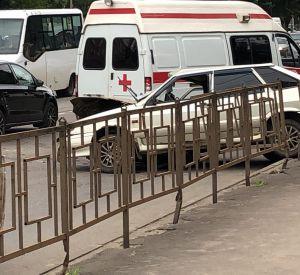 Момент жесткого ДТП в Смоленске сняли на видео