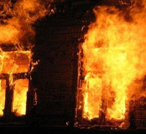 На пожарище найдено тело смолянки